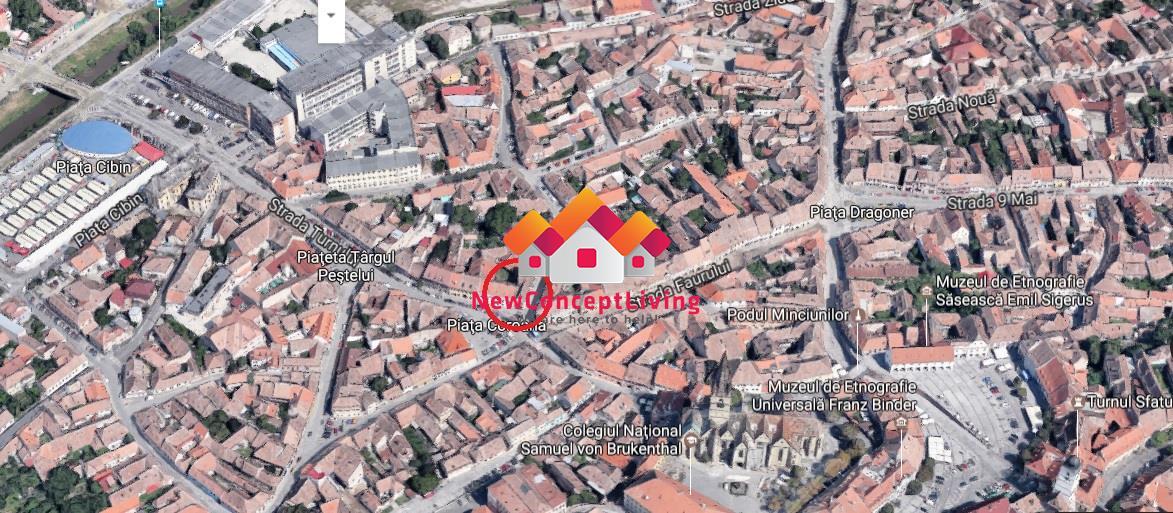Spatiu comercial de vanzare in Sibiu, ultracentral