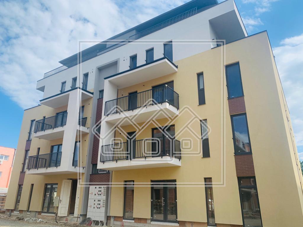 Apartament de vanzare in Sibiu - 2 Camere la Etajul 1 cu Balcon