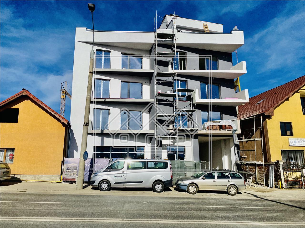 Apartament 2 camere de vanzare in Sibiu - et.intermediar -Sos.Al.Iulia