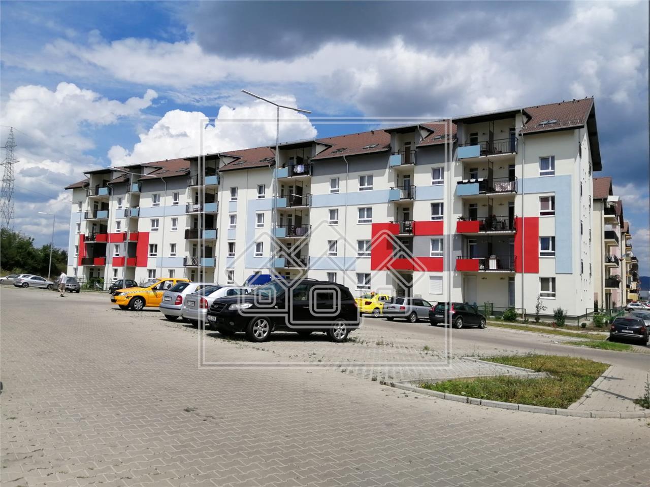 Garsoniera de inchiriat in Sibiu -total decomandata-cu balcon