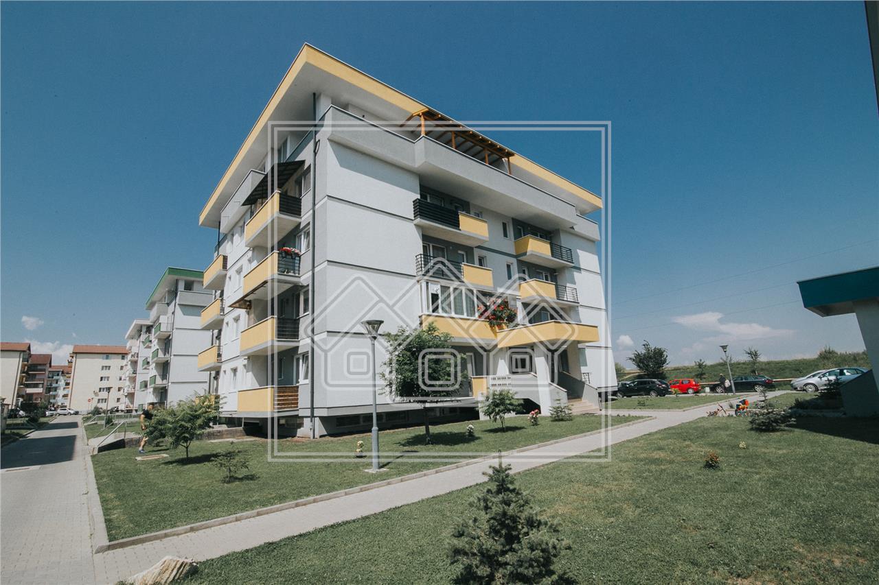 Apartament de inchiriat in Sibiu- 2 camere si balcon- Zona Turnisor