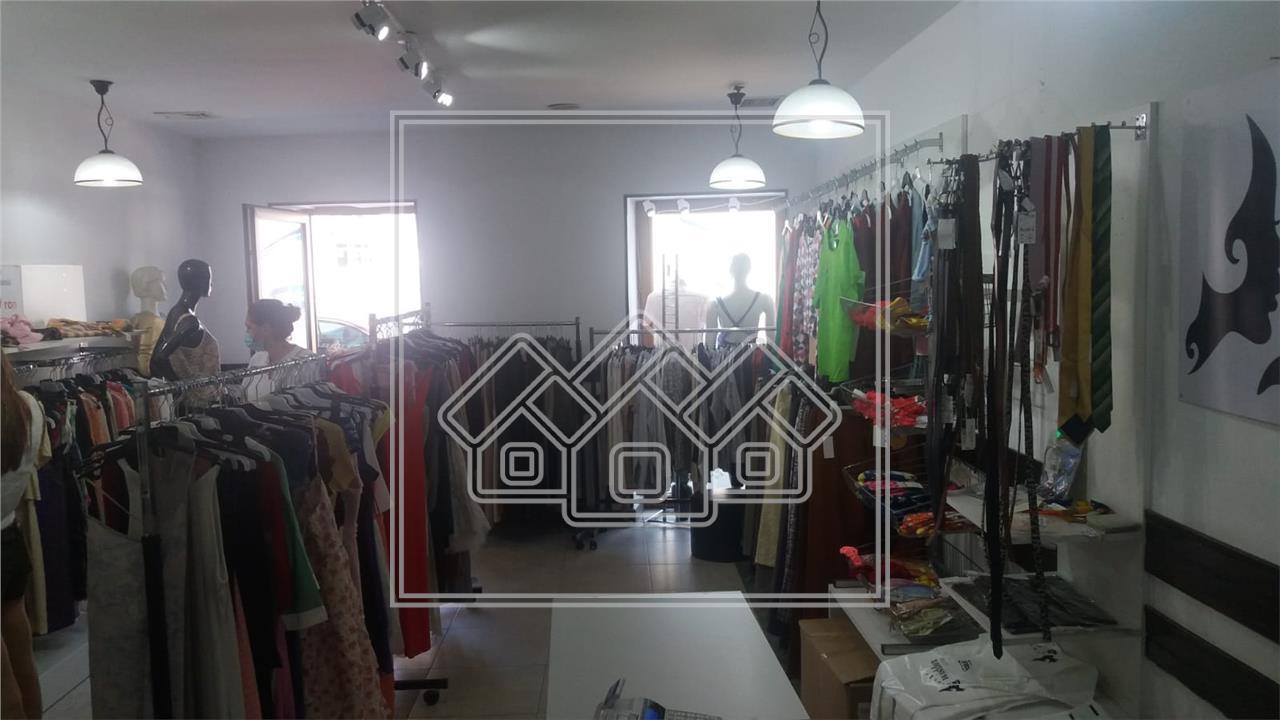 Spatiu Comercial de Inchiriat in Sibiu -Central- Zona cu vad