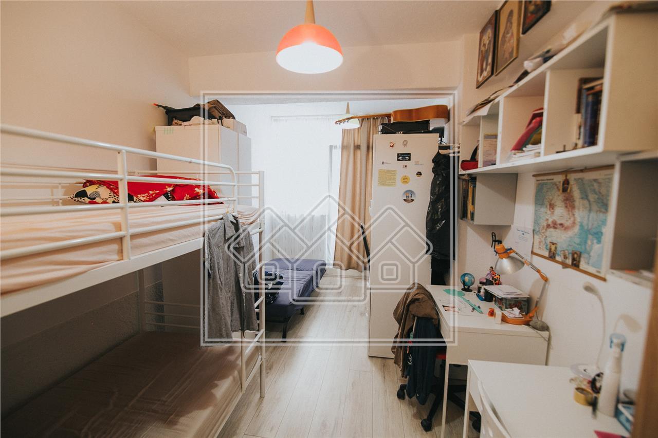Apartament de vanzare in Sibiu -3 camere cu terasa si balcon