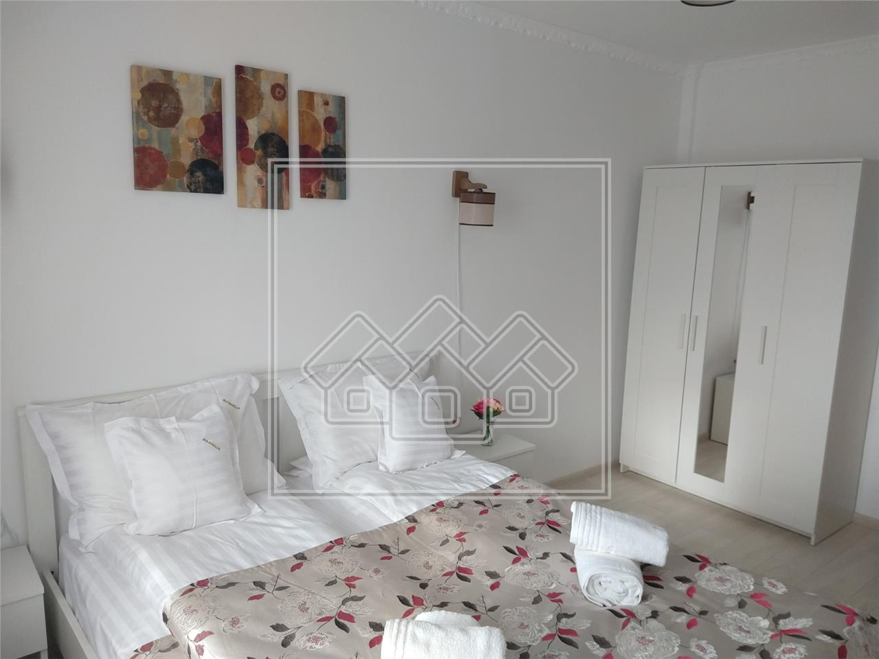 Apartament de vanzare in Sibiu -2 camere cu balcon- Calea Surii Mici