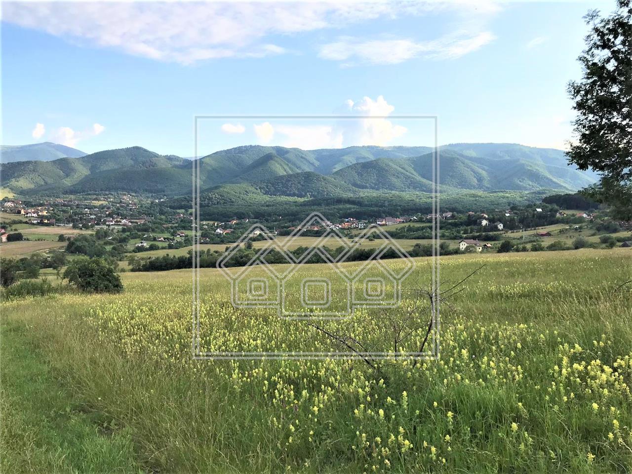 Teren de vanzare in Sibiu - Tocile - intravilan - 1798 mp