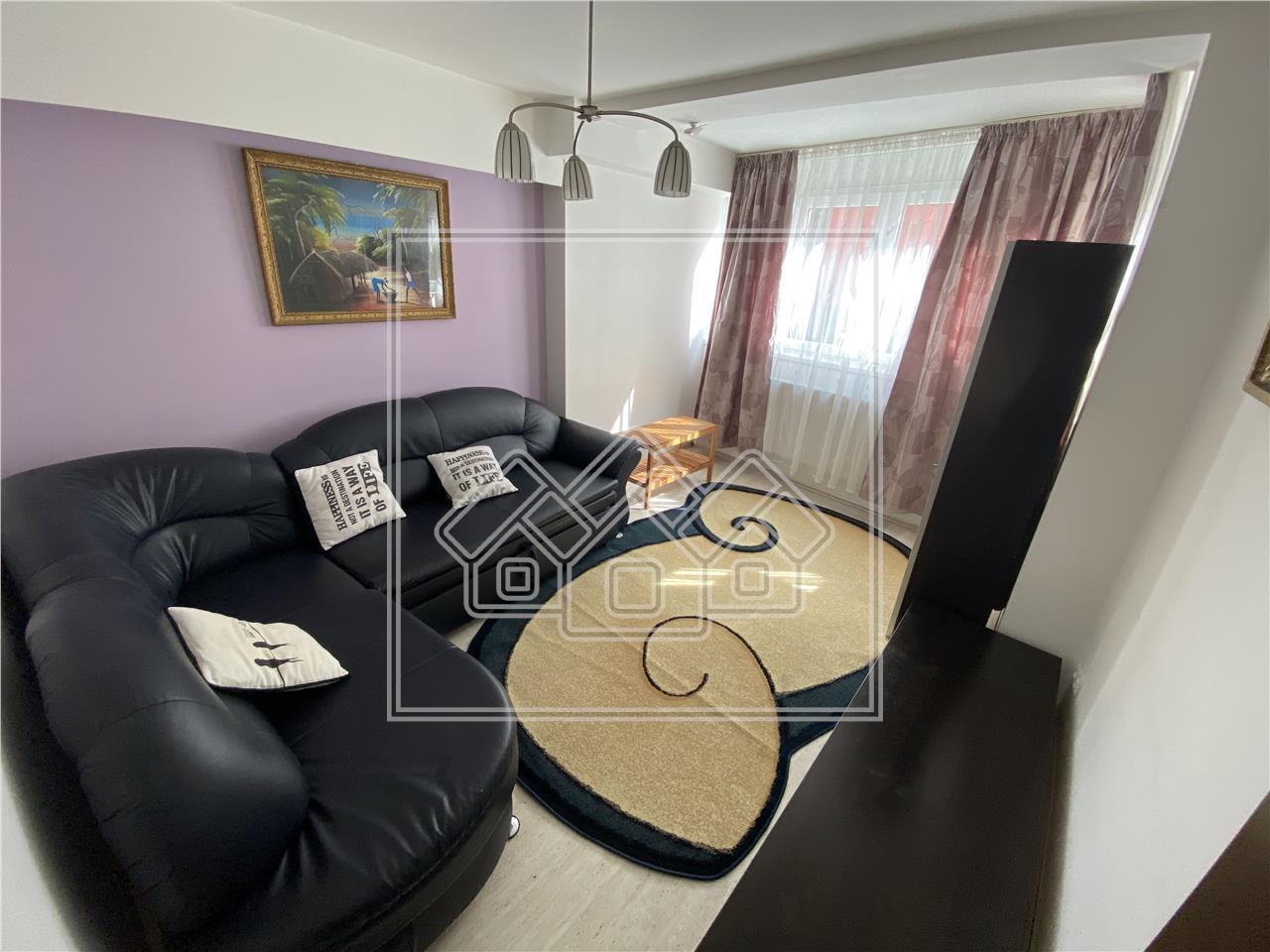 Apartament de inchiriat in Sibiu - 2 camere decomandate