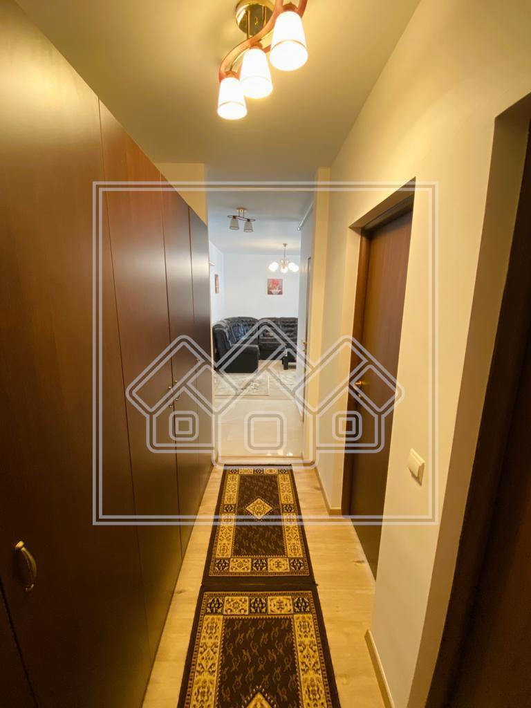 Apartament de inchiriat in Sibiu-3 camere cu balcon-City Residence