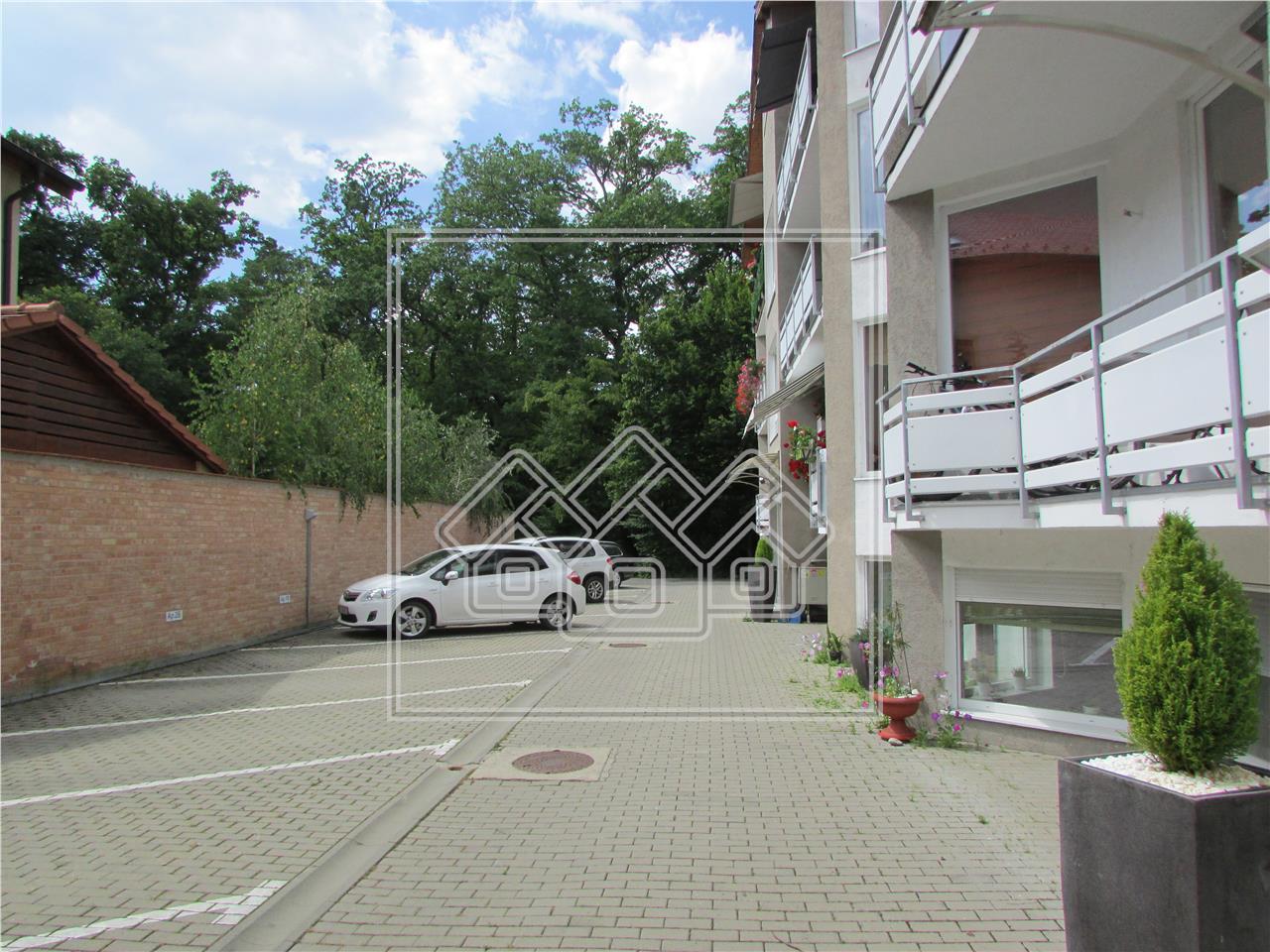 Apartament de inchiriat in Sibiu - Padurea Dumbrava -zona premium