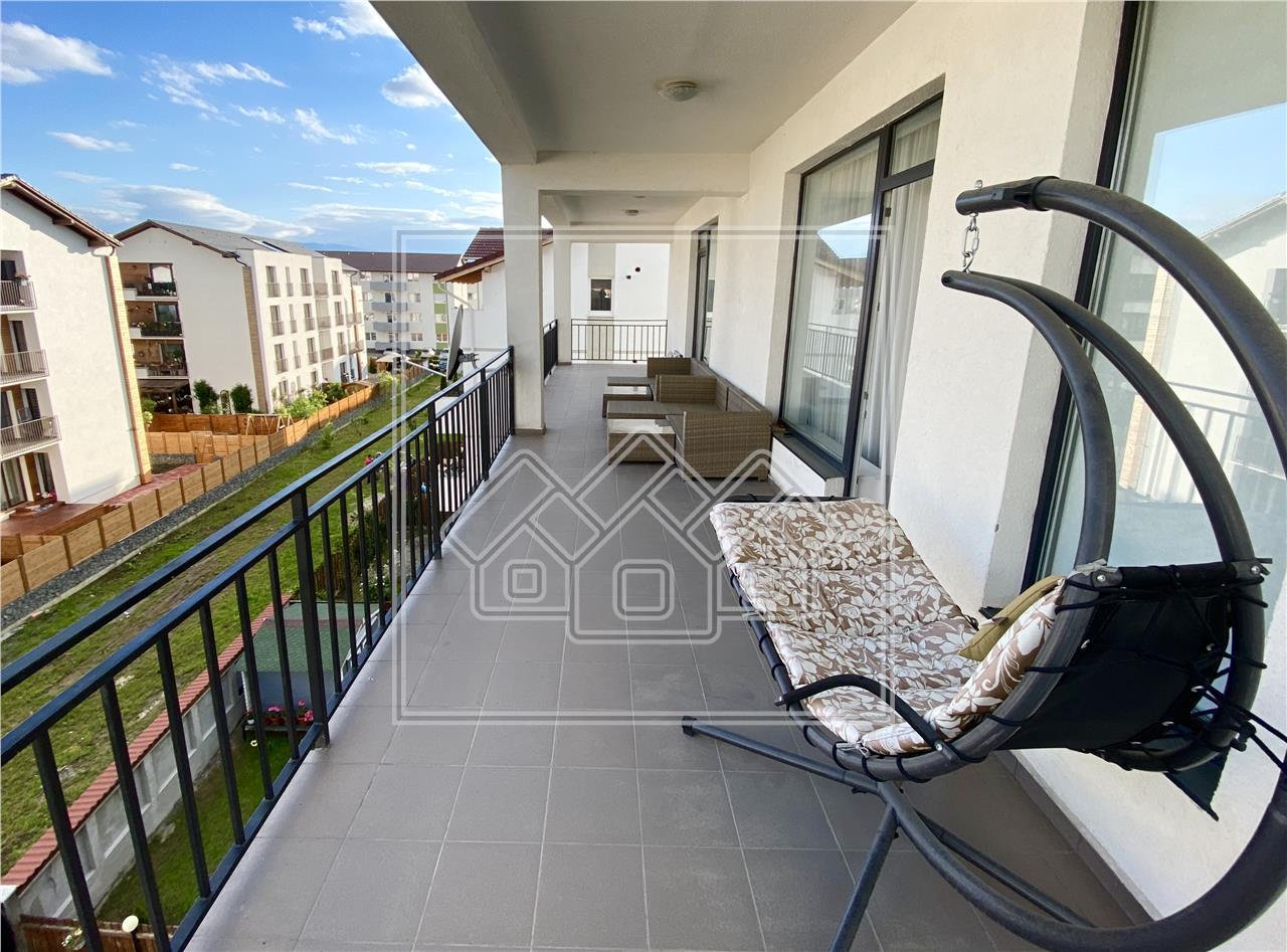 Apartament tip penthouse de inchiriat in Sibiu - de lux