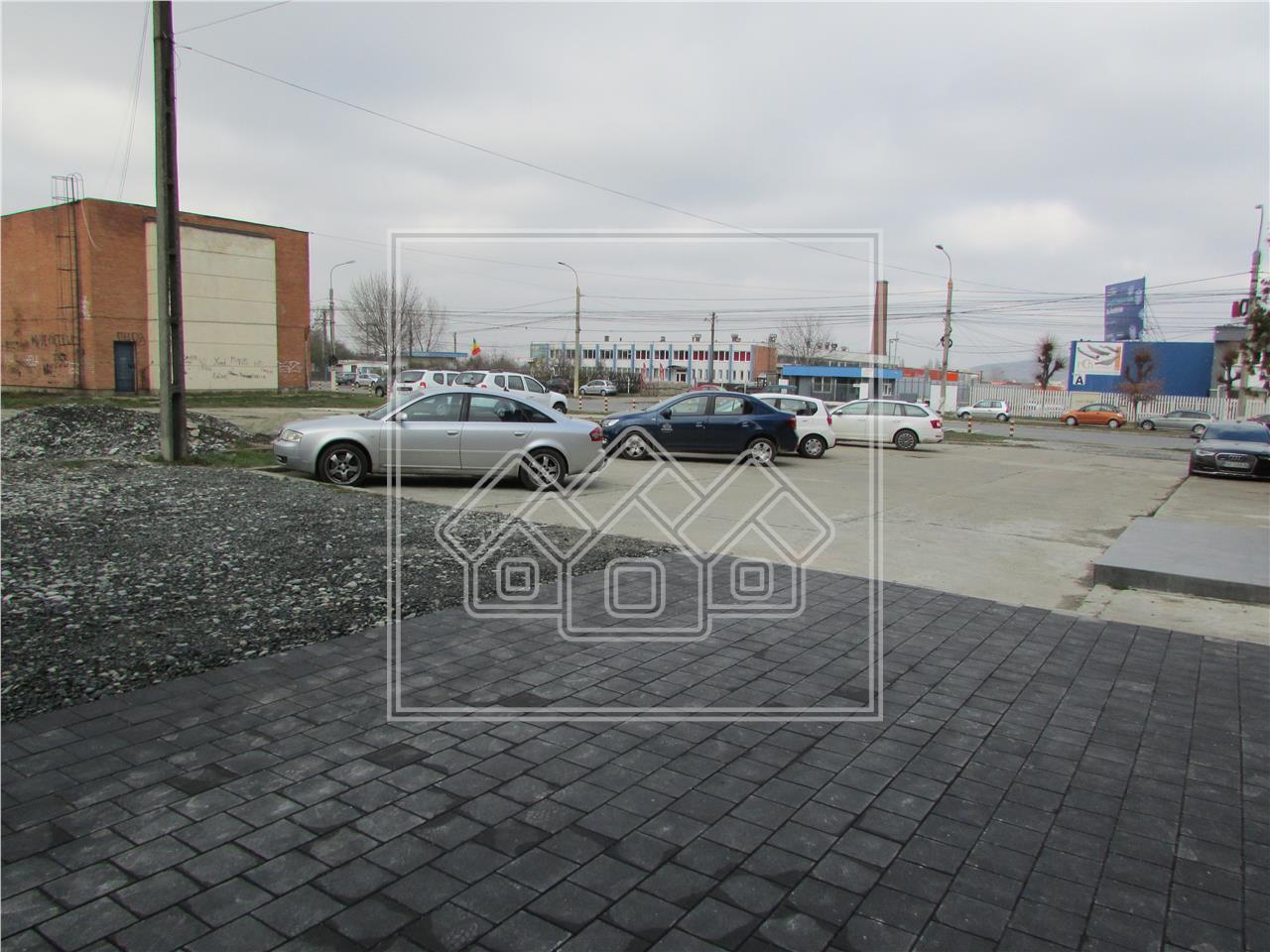 Spatiu de birouri de inchiriat in Sibiu - Industrial Est - nefinisat
