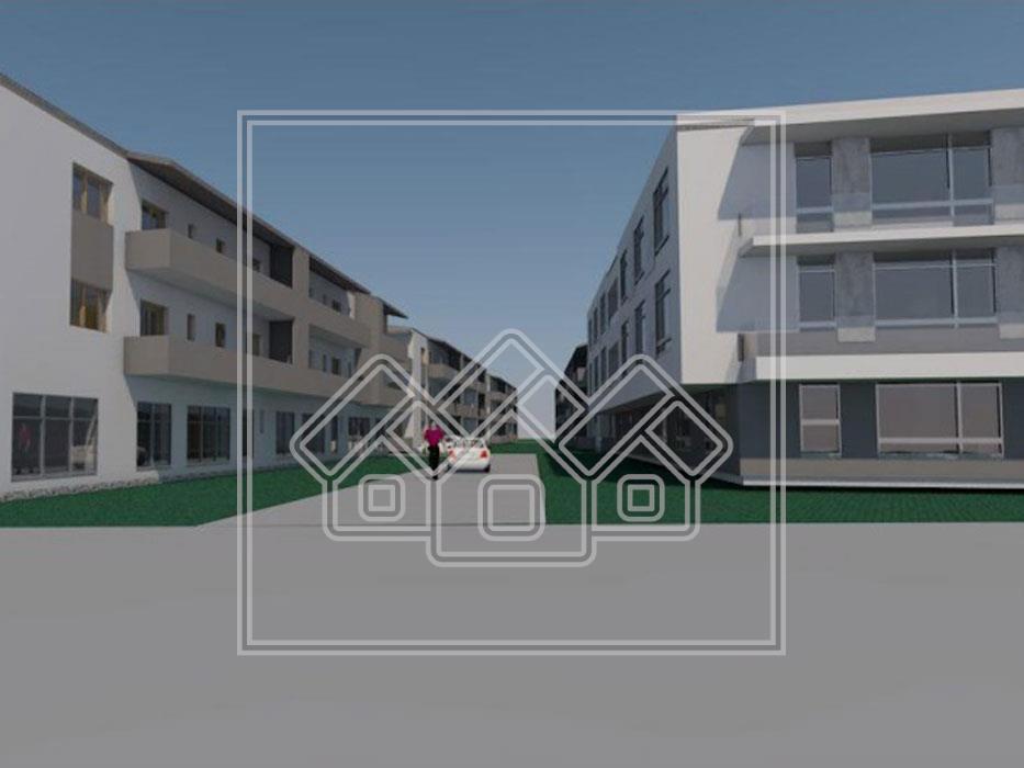 Apartament 2 camere de vanzare in Sibiu - balcon 8.45 mp -P.Brana