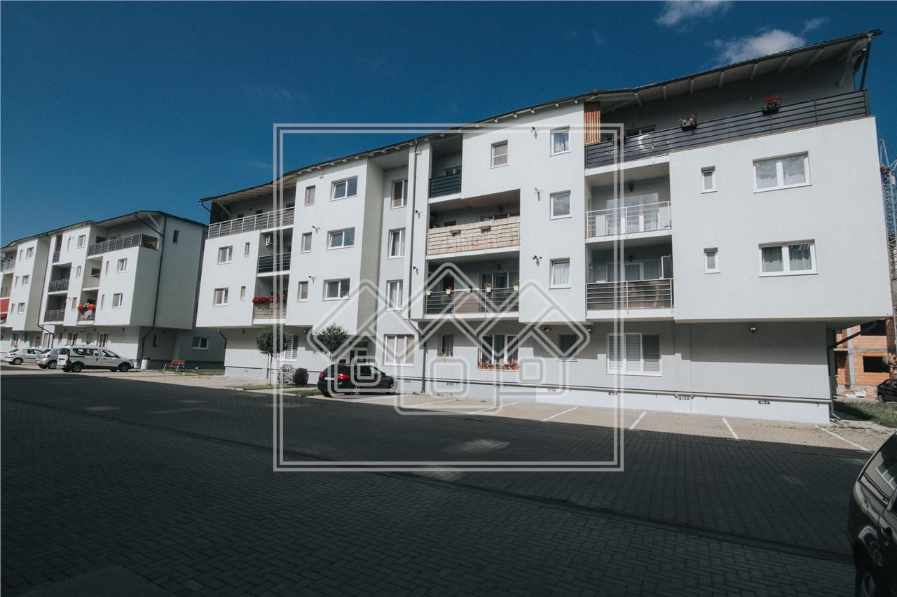 Apartament de vanzare in Sibiu - 2 camere cu balcon-mobilat si utilat