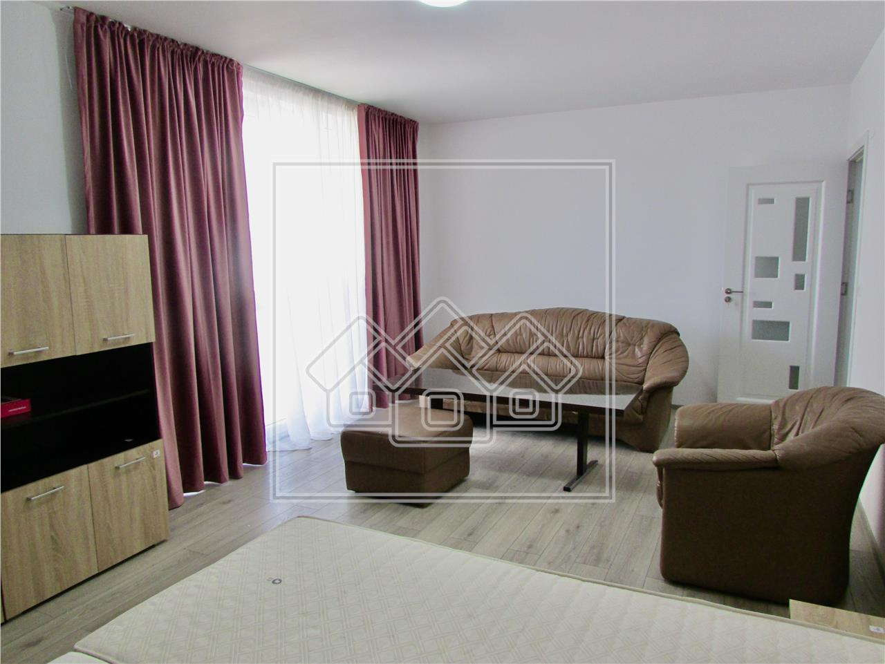 Apartament 2 camere de inchiriat in Sibiu, prima inchiriere,imobil nou