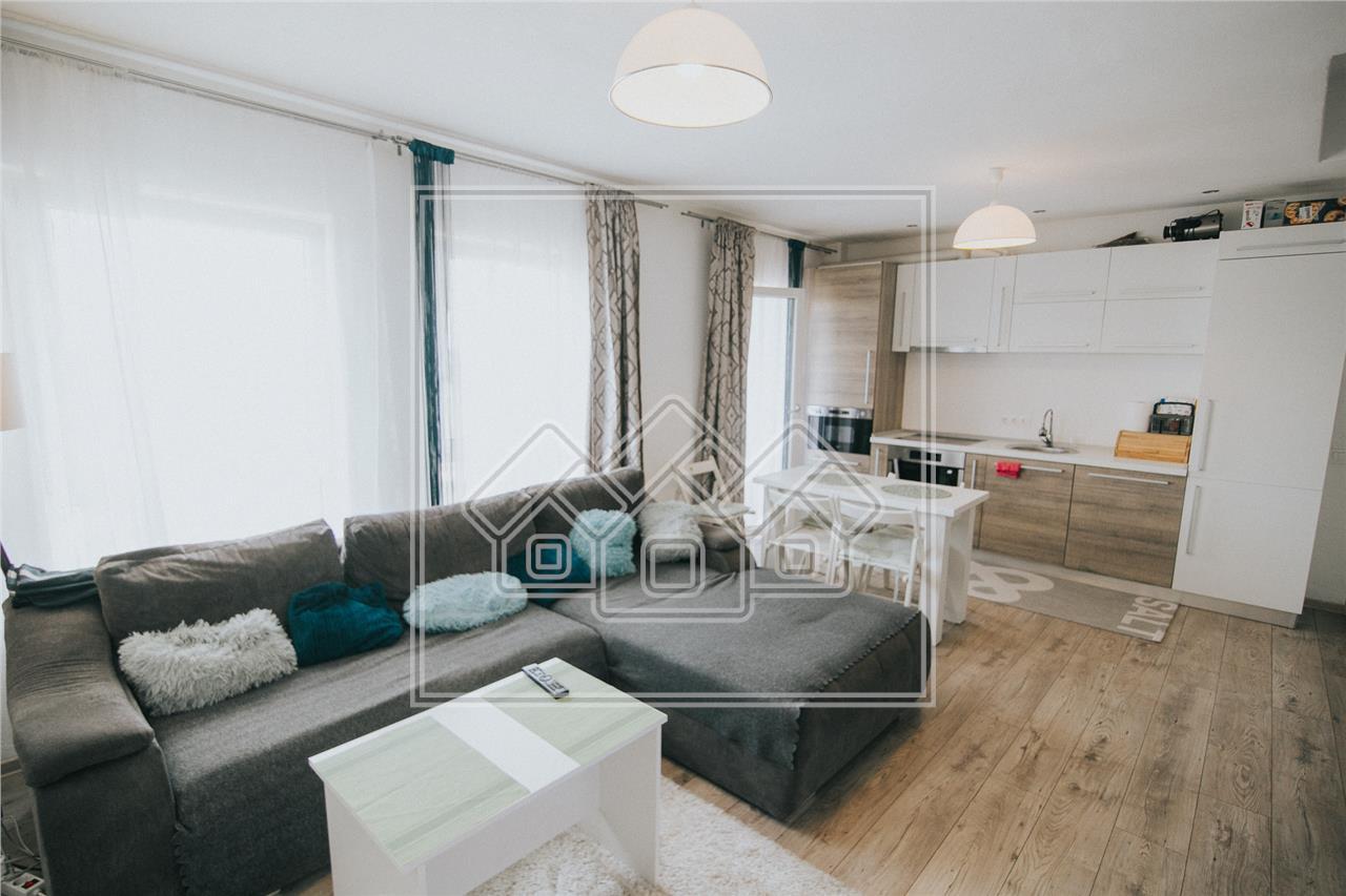 Apartament de vanzare in Sibiu- 3 camere si balcon-C. Arhitectilor
