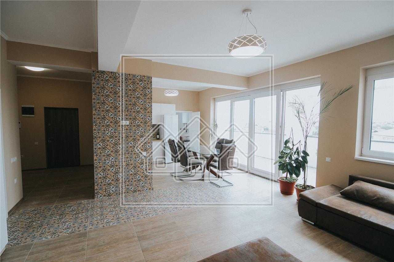 Apartament de tip penthouse de inchiriat in Sibiu -Zona Lazaret