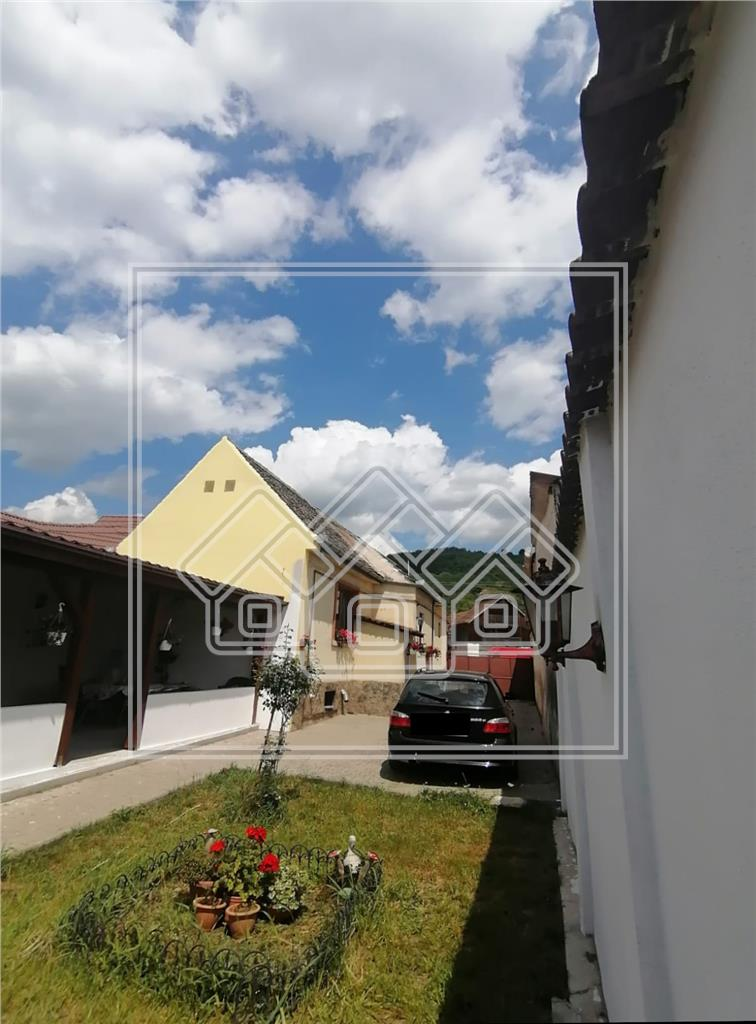 Casa de vanzare in Sibiu - individuala - teren 1100 mp - Gusterita