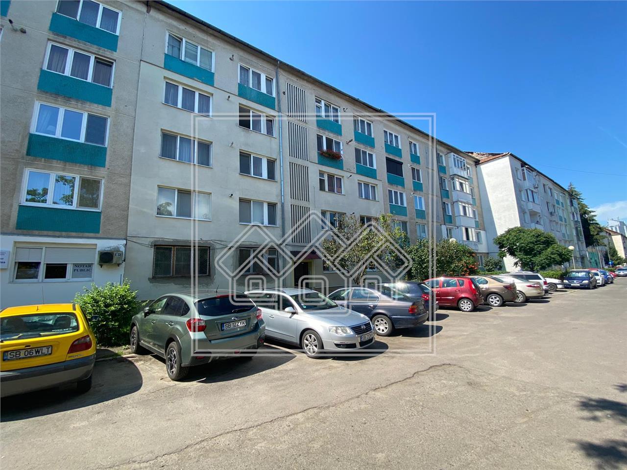 Apartament de vanzare in Sibiu, 3 camere, etaj 1, Zona Milea