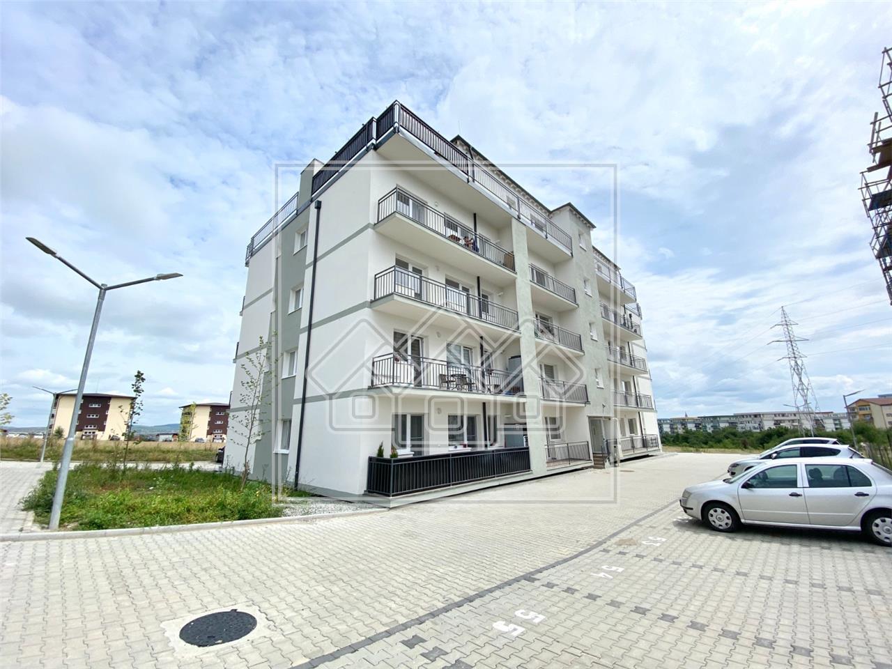 Garsoniera de vanzare in Sibiu-cu balcon-finisata la cheie-Z. Turnisor