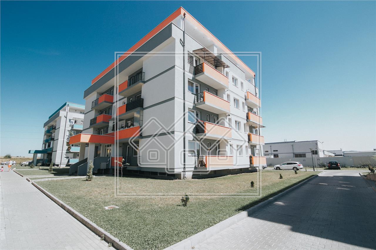 Apartament de vanzare in Sibiu-3 camere, 2 balcoane si garaj subteran