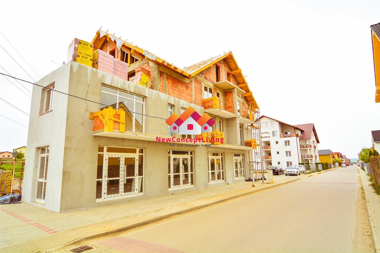 Spatiu Comercial de vanzare in Sibiu - vedere la strada
