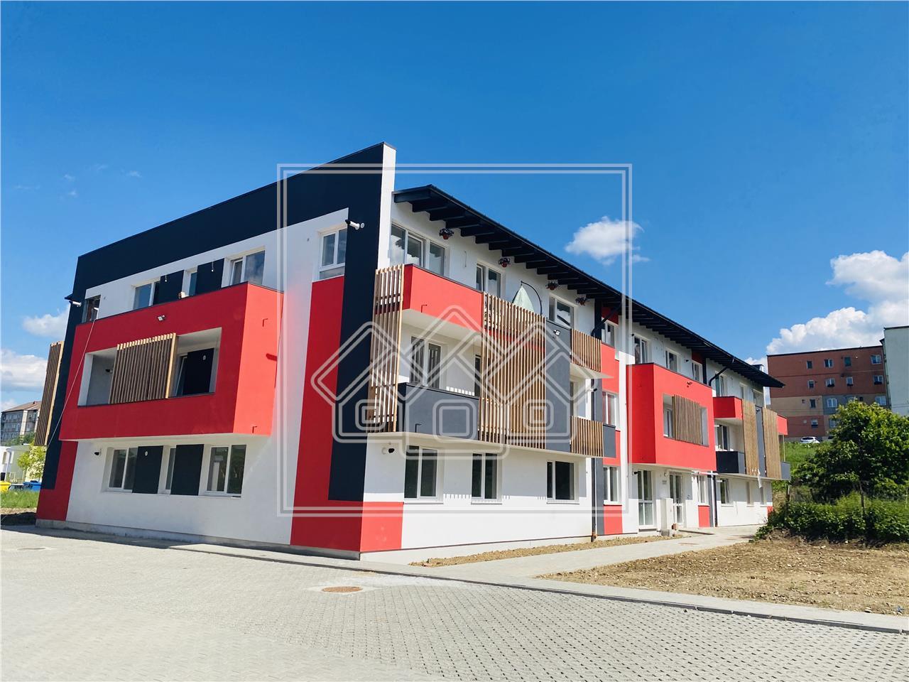 Apartament de vanzare in Sibiu - 2 camere, etaj intermediar (R)