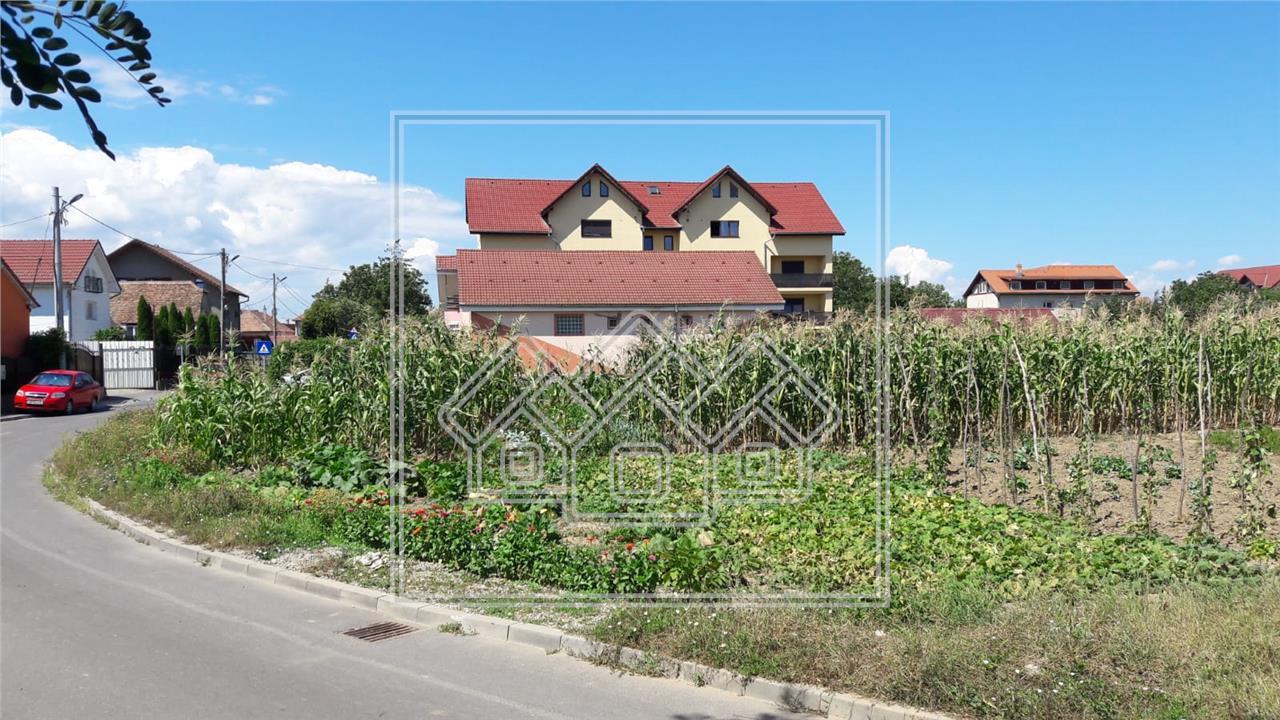 Teren intravilan de vanzare in Sibiu,pretabil constructie P+1+M 40E/mp