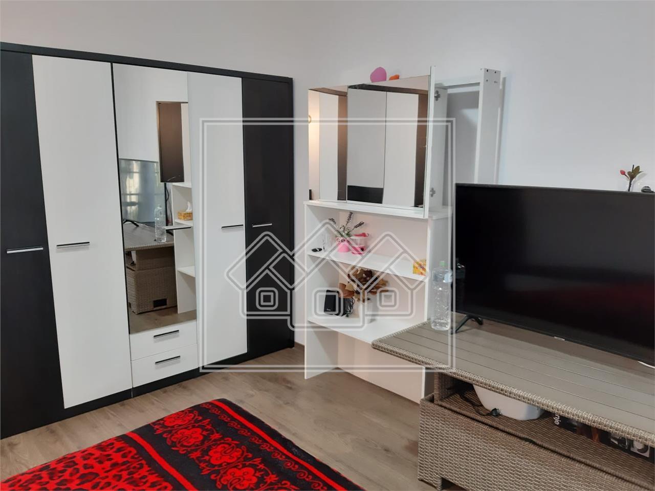 Apartament de inchiriat in Sibiu-3 camere-mobilat si utilat-Z.Selimbar