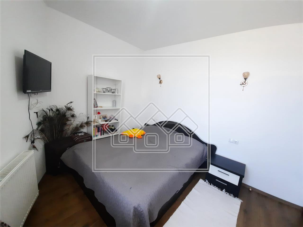 Apartament de inchiriat in Sibiu -3 camere- mobilat si utilat-Selimbar