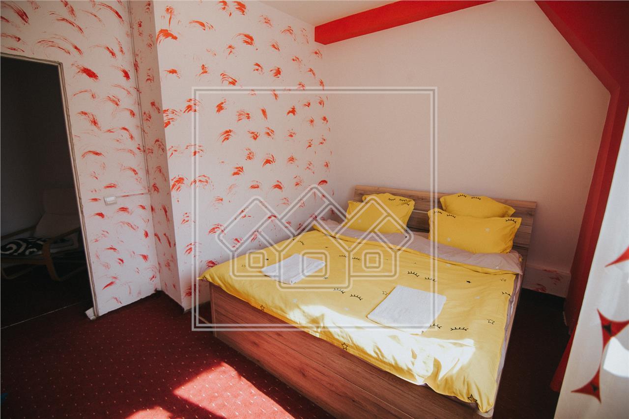 Mansarda de vanzare in Sibiu- 4 camere-mobilat si utilat-Z. Hipodrom I