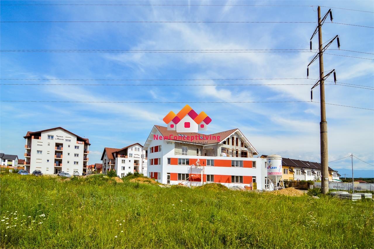 Apartament 3 camere de vanzare in Sibiu-2 terase-vila de lux