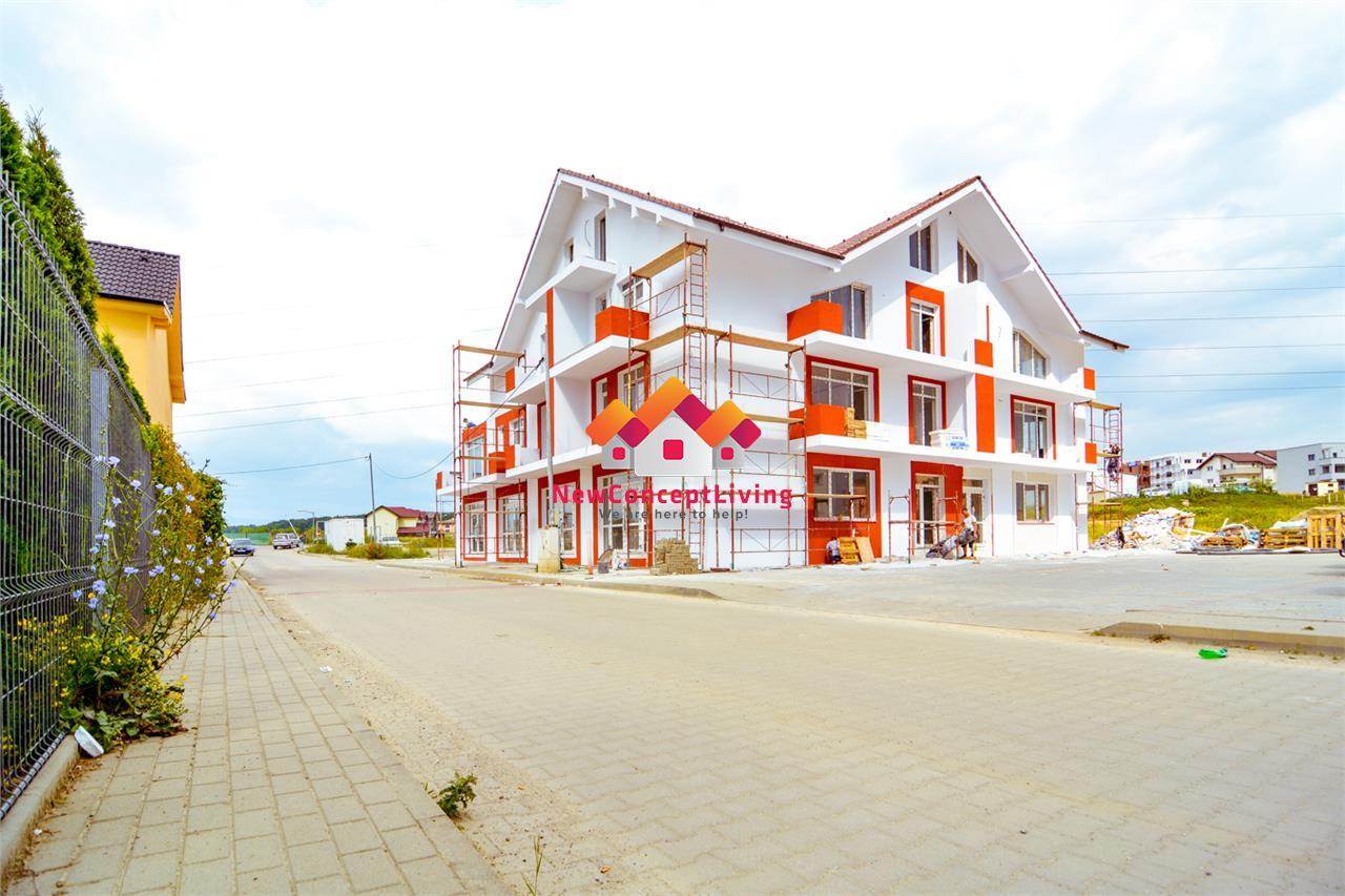 Garsoniera de vanzare in Sibiu - compartimentare inteligenta