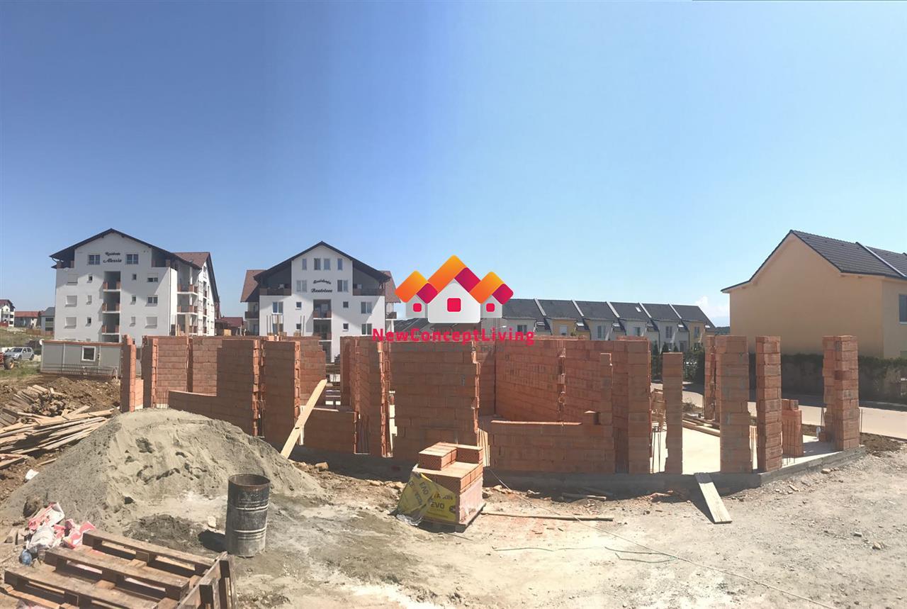 Apartament de vanzare in Sibiu -2 camere - Living+Bucatarie Open Space