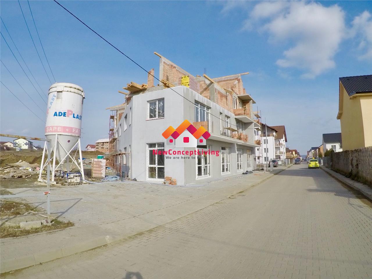 Apartament 3 camere de vanzare in Sibiu - 2 terase