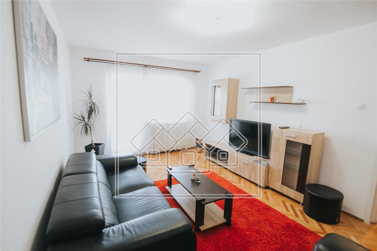 Apartament de inchiriat in Sibiu -3 camere,2 bai si balcon-Z.Dumbravii
