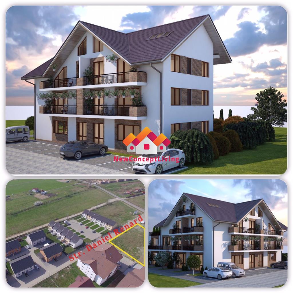 Penthouse de vanzare in Sibiu cu 5 camere-lux-vedere spre munti