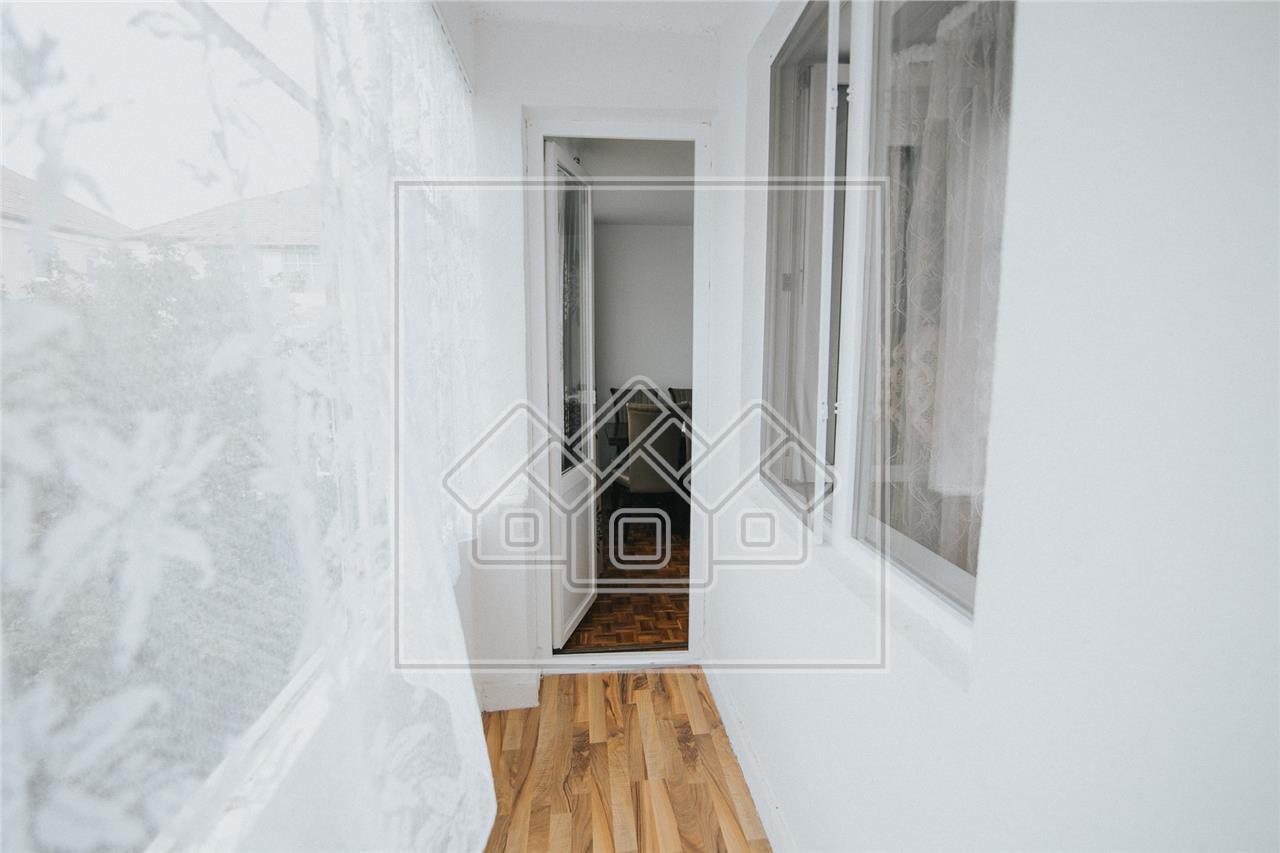 Apartament de vanzare in Sibiu-3 camere cu balcon-Zona Strand