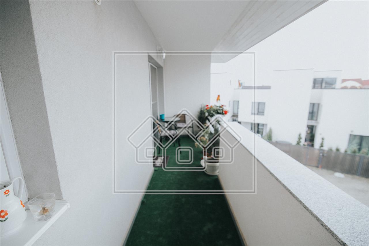 Apartament de vanzare in Sibiu-3 camere-mobilat si utilat-Z.Selimbar