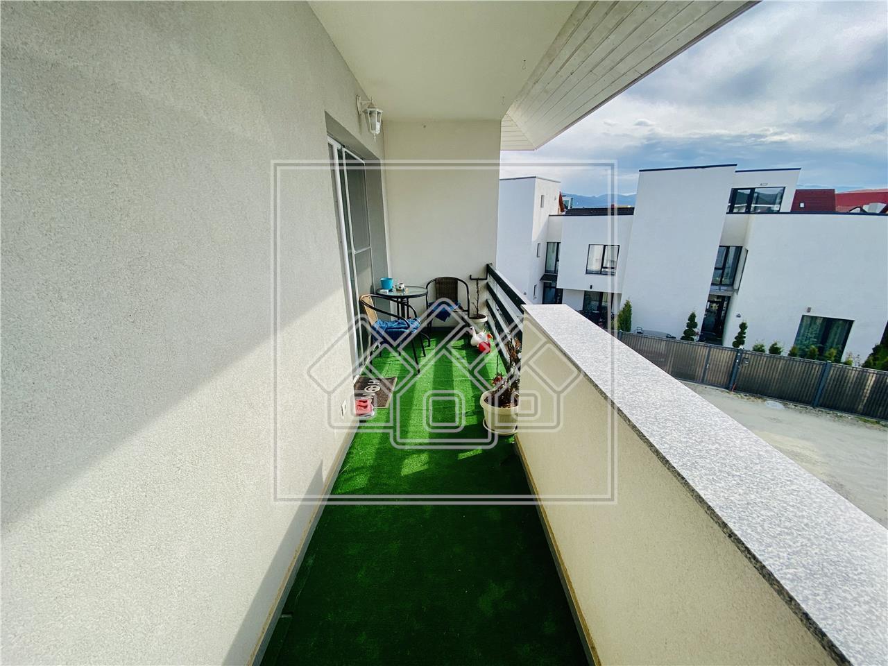 Apartament de vanzare in Sibiu - Selimbar - 3 camere si pod