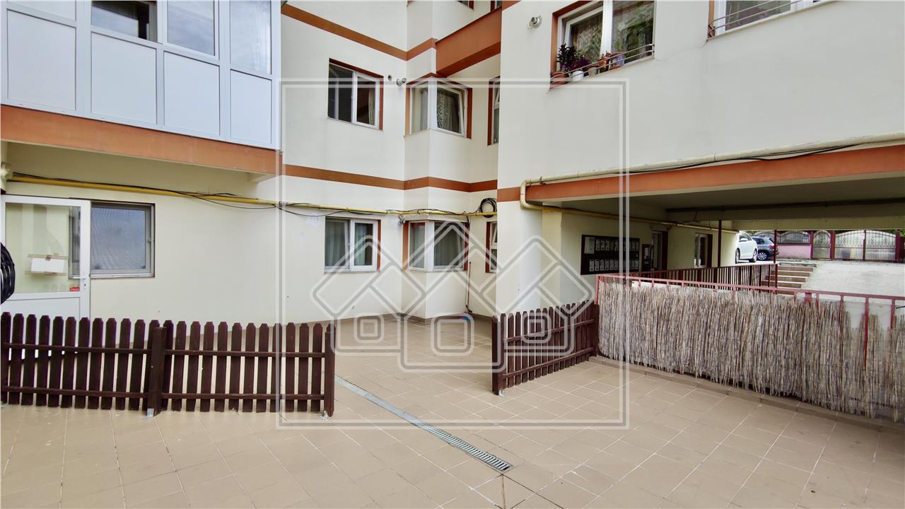 Apartament 3 camere de vanzare in Sibiu - zona Tilisca, mobilat