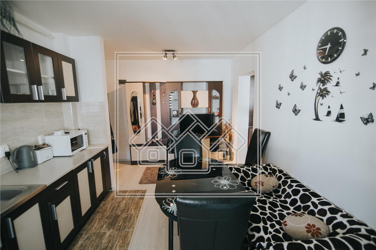 Apartament de vanzare in Sibiu-2 camere cu balcon-Calea Surii Mici