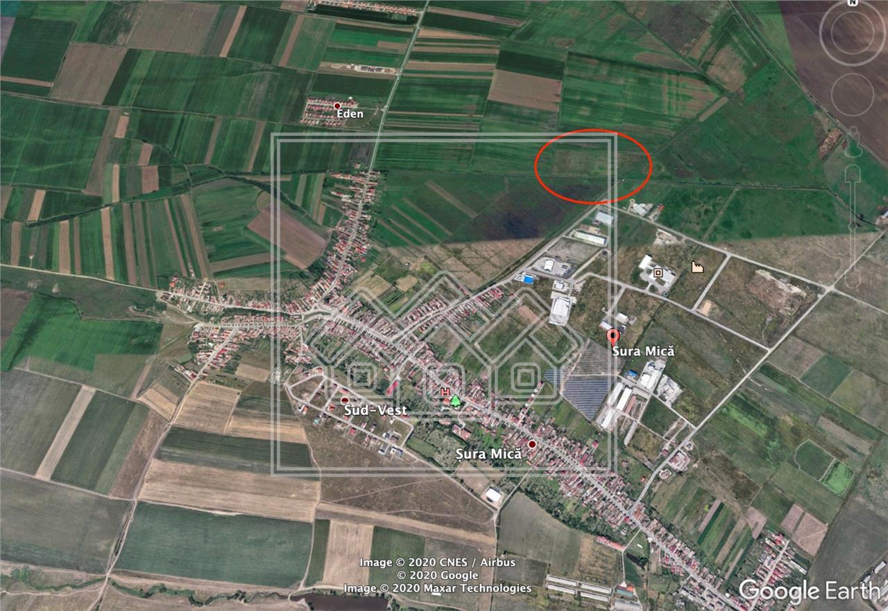 Teren de vanzare in Sibiu - Sura Mica - 10000 mp - pretabil investitie