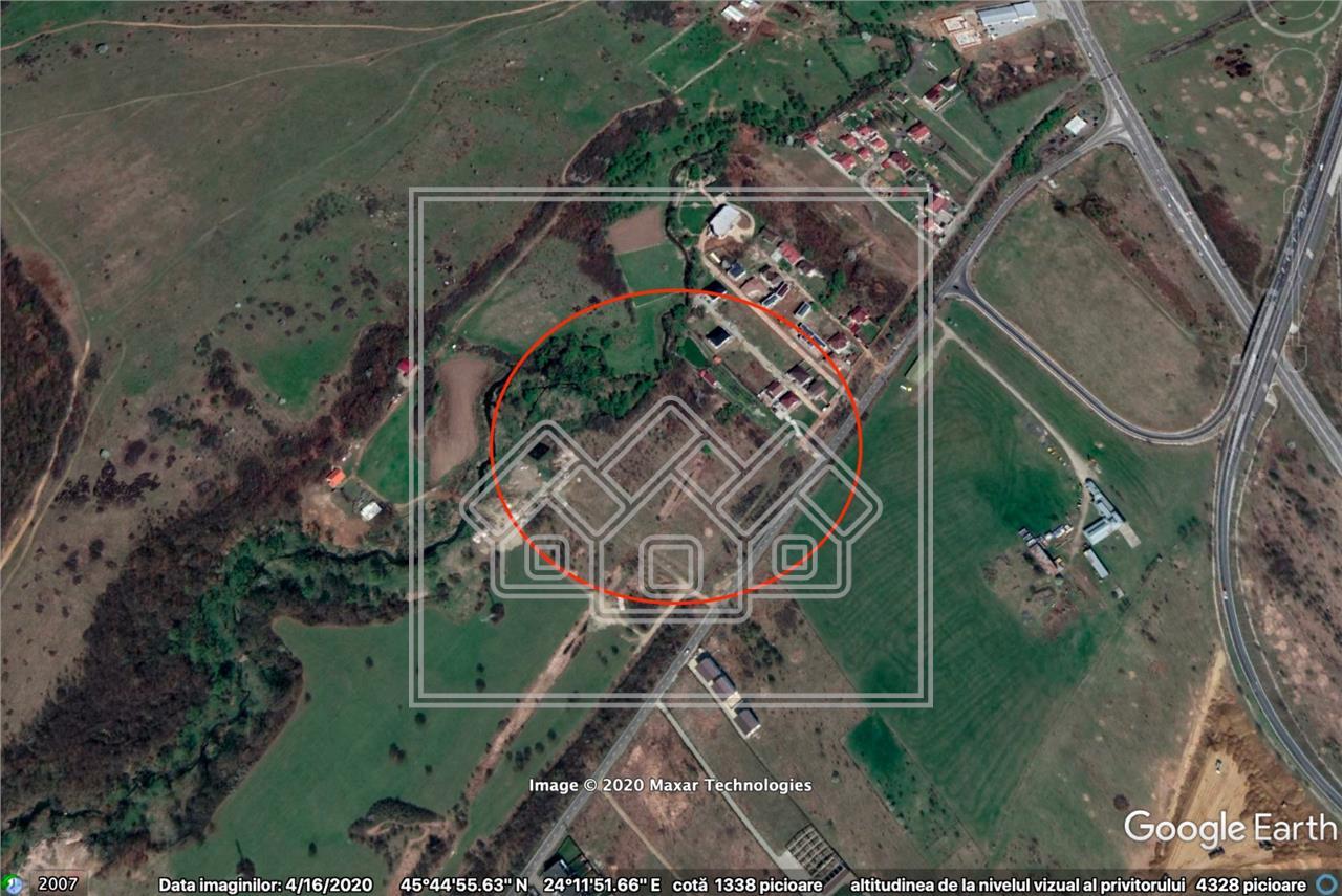 Teren de vanzare in Sibiu- 2000 mp - Zona Selimbar