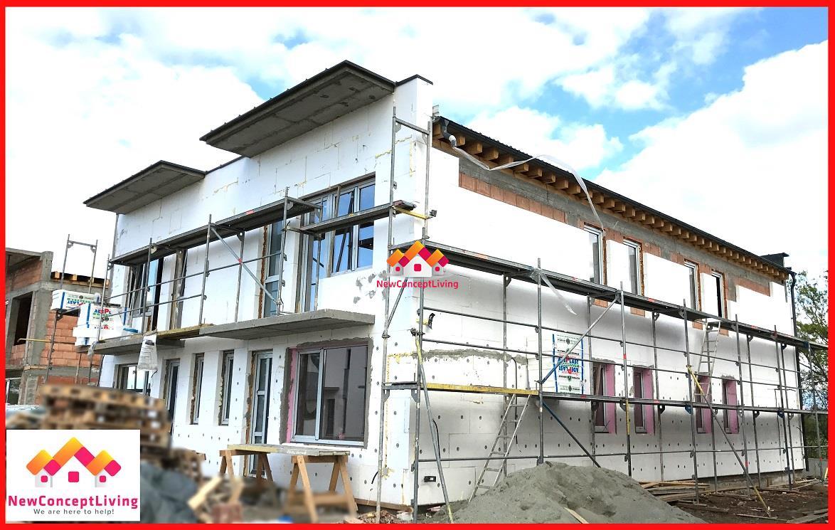 Casa de vanzare in Sibiu, strada de case noi in Sibiu.