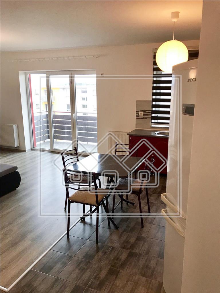Apartament de vanzare in Sibiu-2 camere-mobilat si utilat-Avangarden
