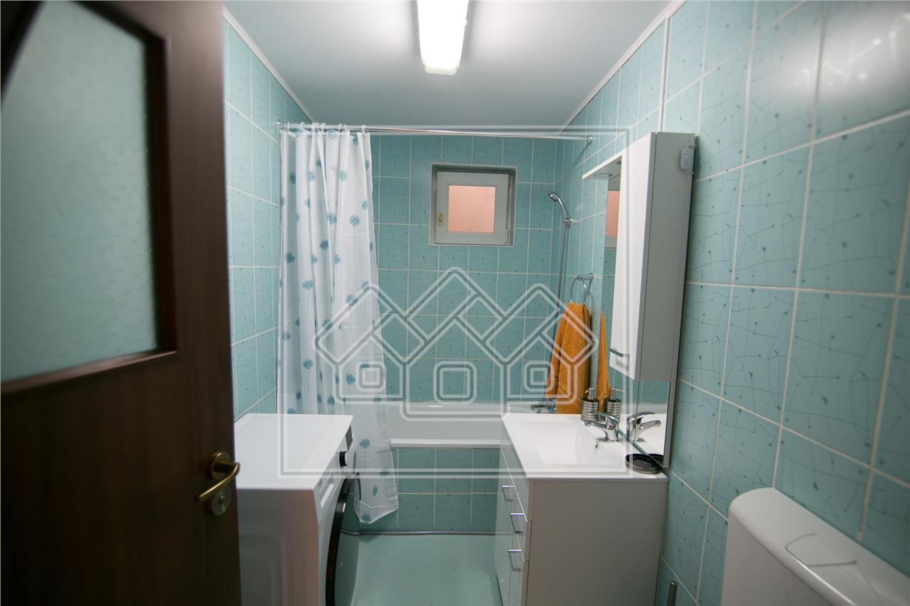 Apartament de inchiriat in Sibiu-3 camere-mobilat si utilat-Ciresica