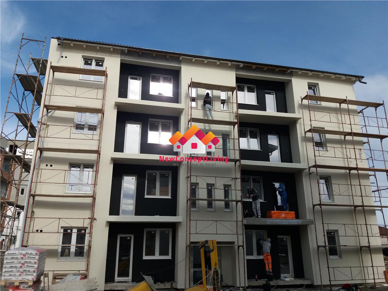 Apartament de vanzare in Sibiu- 2 camere,cu gradina-bucatarie separata