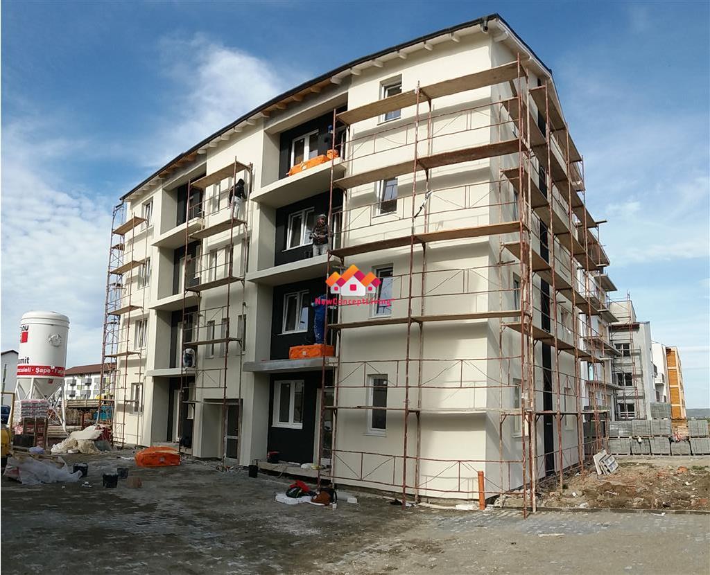 Apartament de vanzare in Sibiu - 2 camere - etaj 1 - 42 mp utili