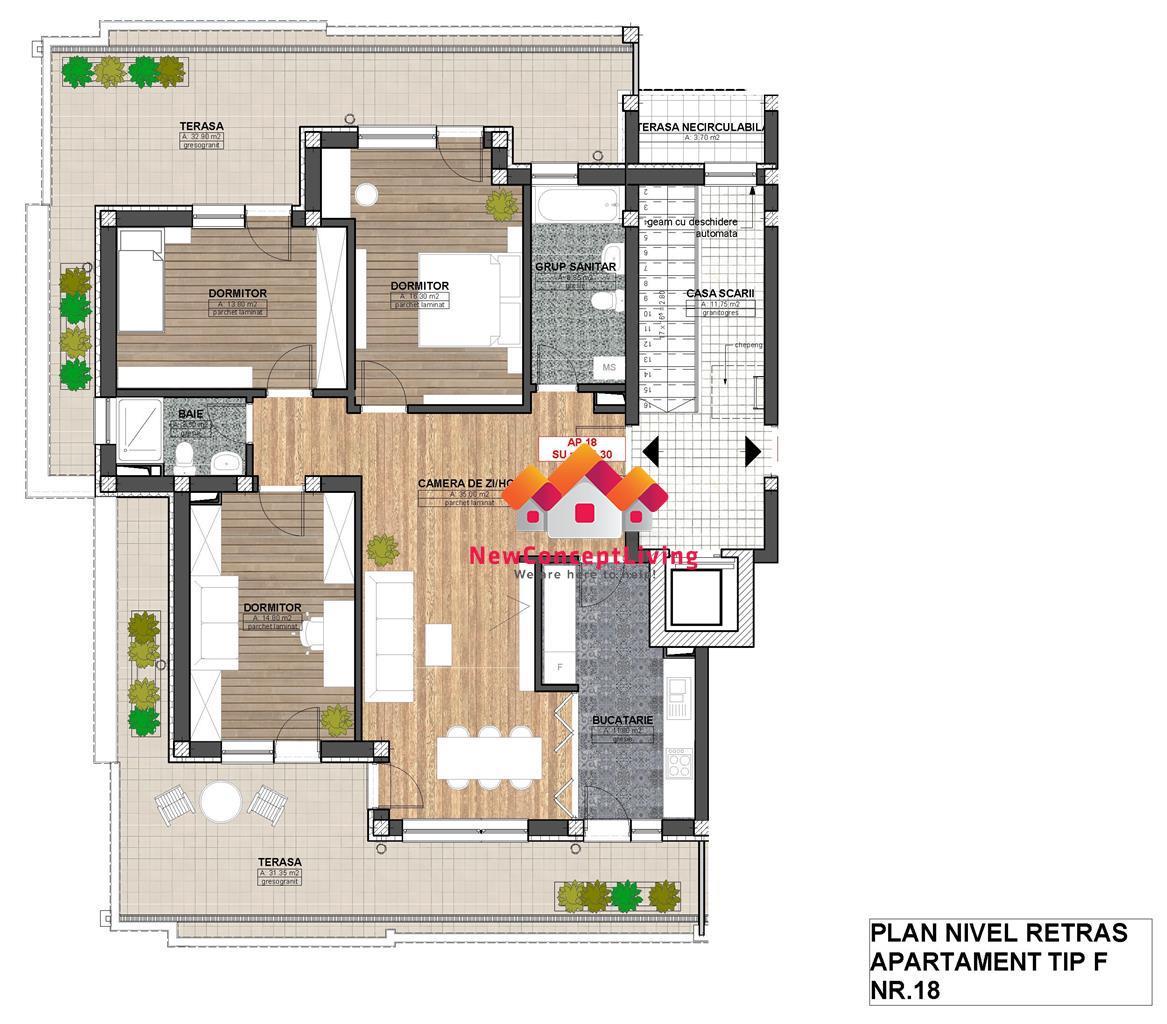 Apartament de vanzare Sibiu -PENTHOUSE - locatie PREMIUM