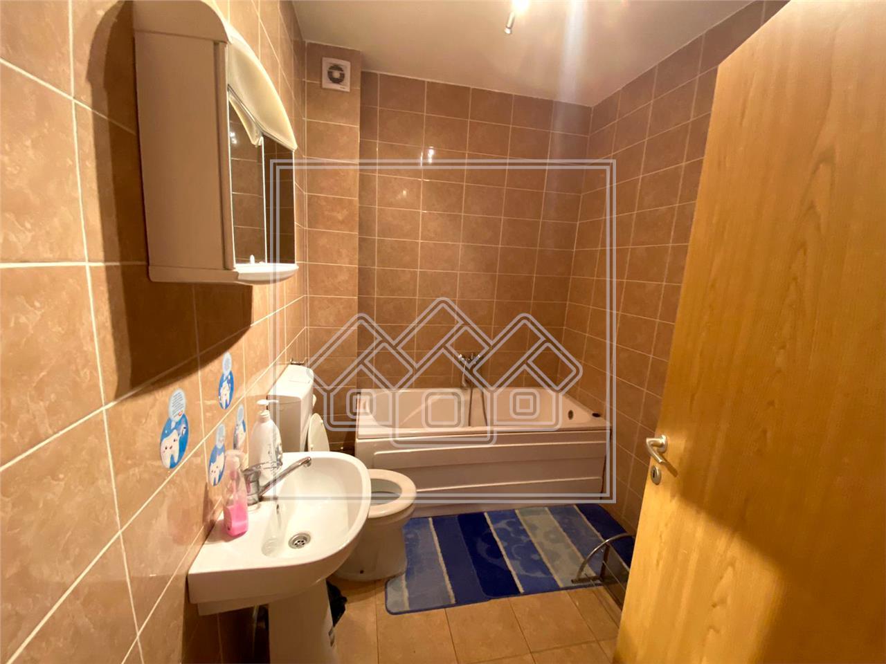 Apartament de inchiriat in Sibiu - Selimbar - mobilat si utilat