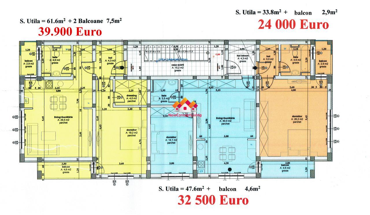 Apartament 2 camere de vanzare Sibiu- LAKE RESIDENCE -locatie superba